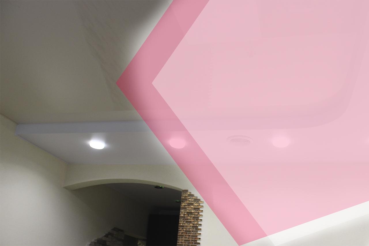 Натяжной потолок для низких комнат – какой выбрать