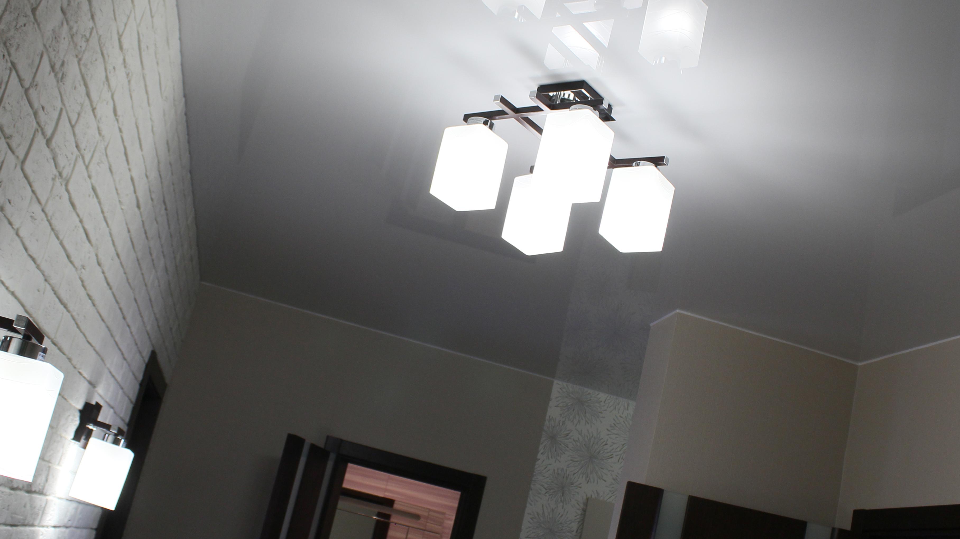 Как изменится высота комнаты с натяжным потолком