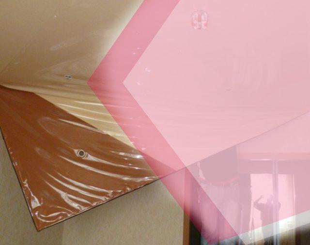 Замена натяжного потолка – как выполняются монтажно-демонтажные работы