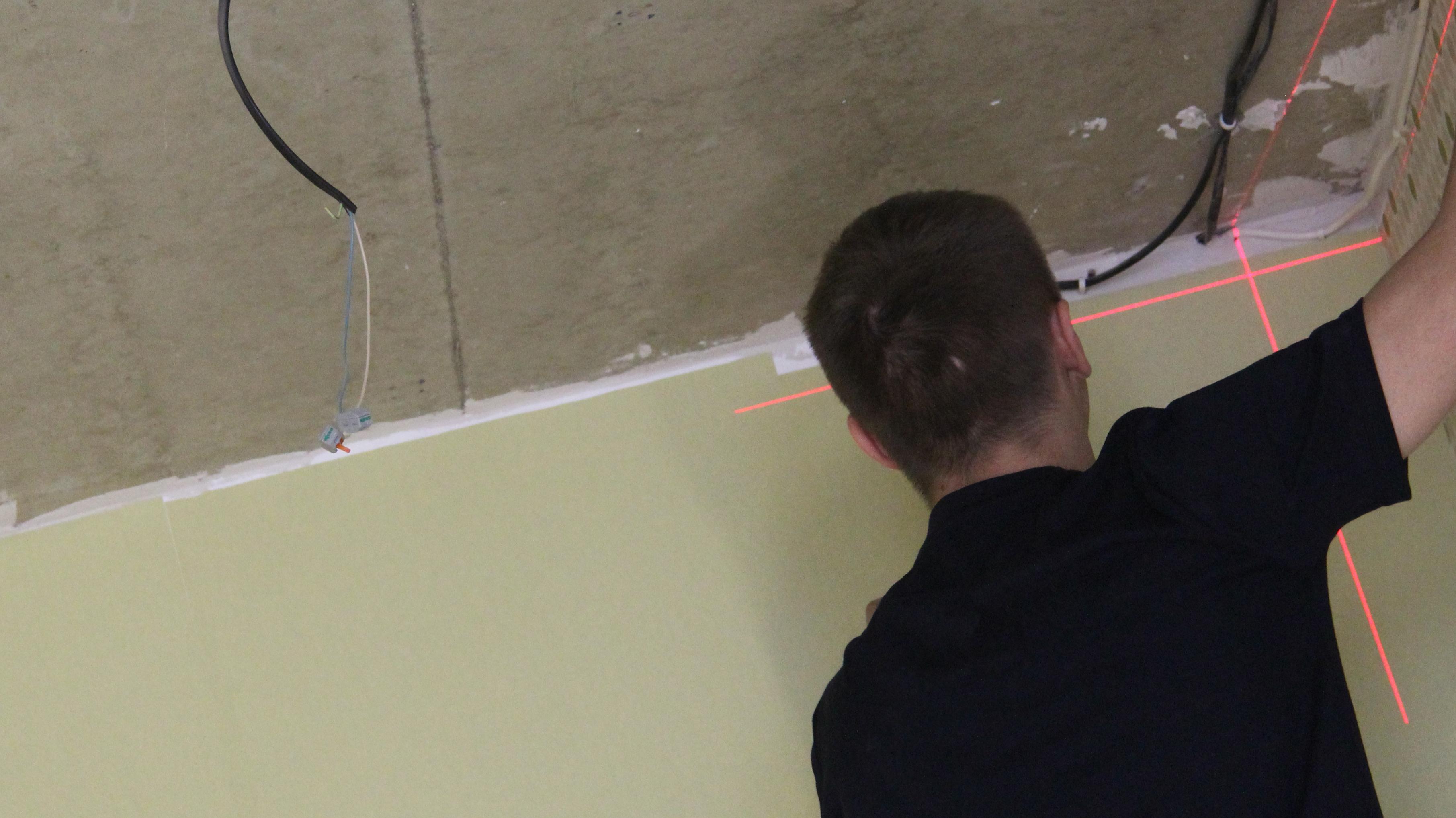 Замеры натяжного потолка – бесплатная услуга при заказе полотна